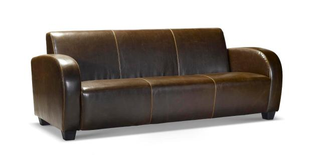 Manhattan Leather Sofa ON SALE NOW